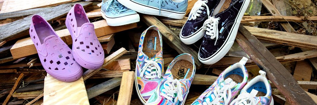Authentic UltraRange EXO SE Destruct SF Trek Slip on vans chris Johanson sneakers footwear sustainable natural organic environmental artist painter be cool to your world