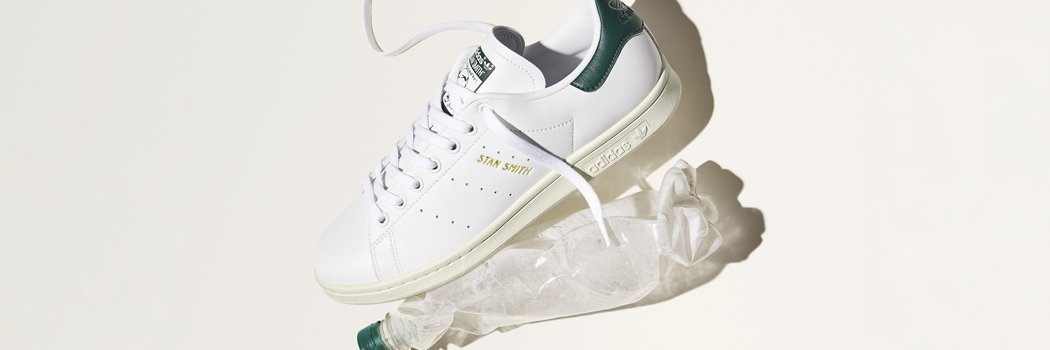 Adidas originals Stan Smith primegreen prime blue recycled plastic materials synthetic leather collegiate green white blue black navy laceless velcro straps FX5522 FX5521 FX5502 FX5509