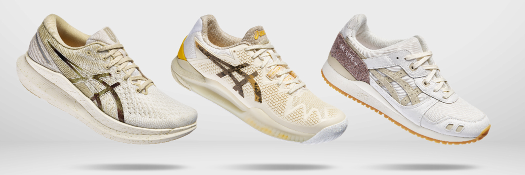 asics earth day 2021 sneakers collection gel lyte iii og nimbus 23 glideride 2 release footwear recycled materials solution dying skycourt gt 1000 glideride 2 farther blast