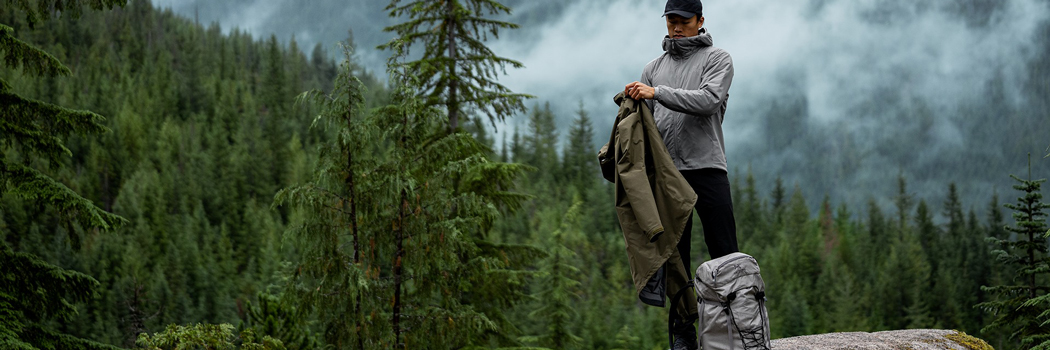 arcteryx rebird upcycling resale care repair clothing circularity sustainability recycle reuse restore gear outdoors apparel hub nest program circular sustainable