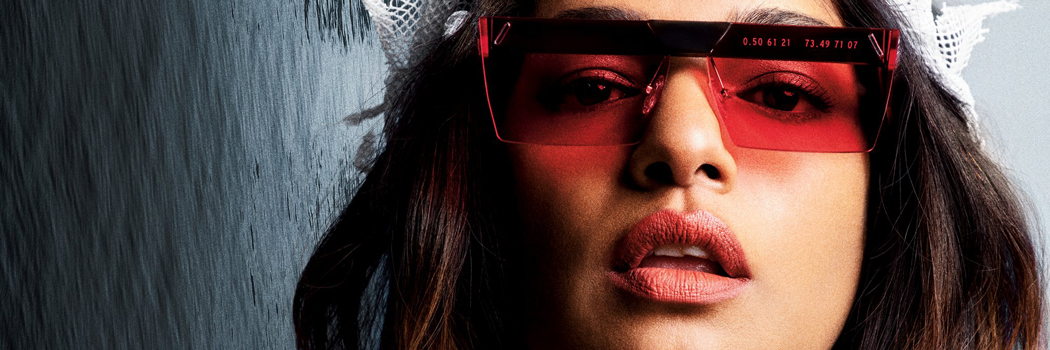 mia m I a parley for the oceans clean waves sunglasses collection recycled ocean plastic fishing nets eyewear debris Mathangi Maya Arulpragasam Maldives islands interchangeable lenses Zeiss gps coordinates handmade Italy