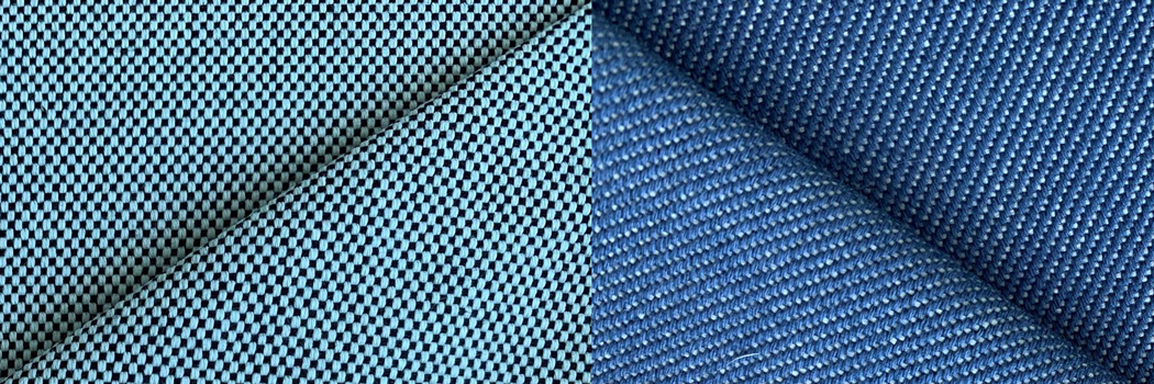 ventile eco recycled cotton fabrics 420 430 materials organic natural plant based vegan twill Panama weave woven Manchester England