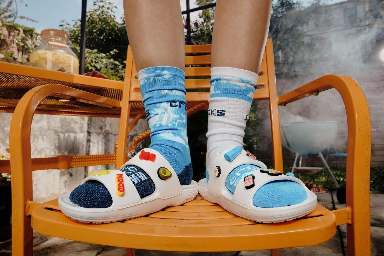 crocs croslite bio based material dow ecolibrium technology clogs mules sandals vegan footwear sustainable net zero