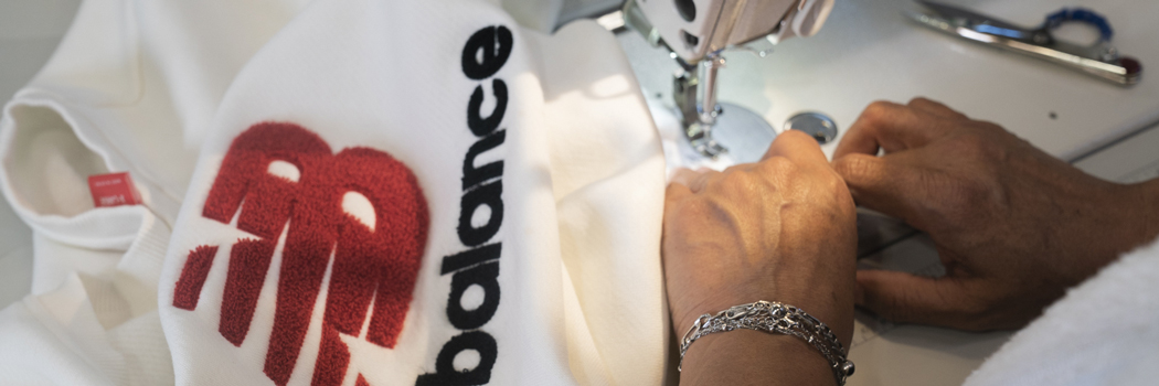 new balance renewed the renewal workshop repair resell clothing refurbished upcycled recycling nb men women